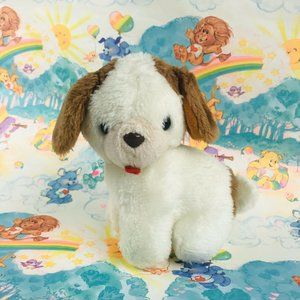 "vintage 1985 Pokey Little Puppy 6.5"" Plush Golden"